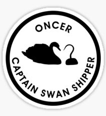 Captain Swan Logo Sticker