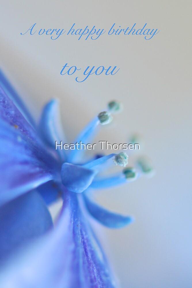 Birthday hydrangea by Heather Thorsen