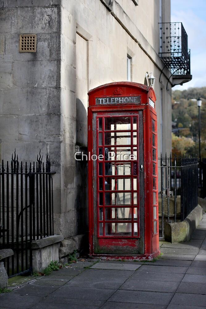 Red Phone Box by Chloe Price
