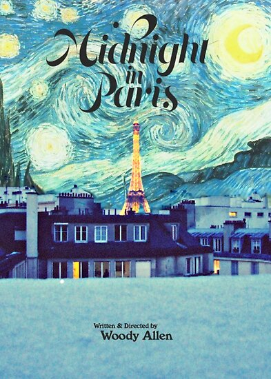 Quot Midnight In Paris Poster Quot Poster By Starforest Redbubble