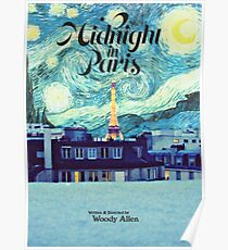 Midnight In Paris Poster Poster