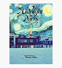 Midnight In Paris Poster Photographic Print