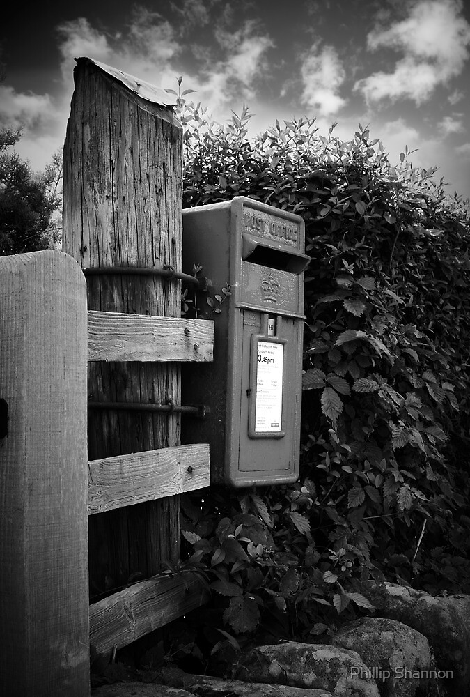 The old post box by Phillip Shannon