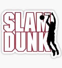 Basketball Slam Dunk Sticker