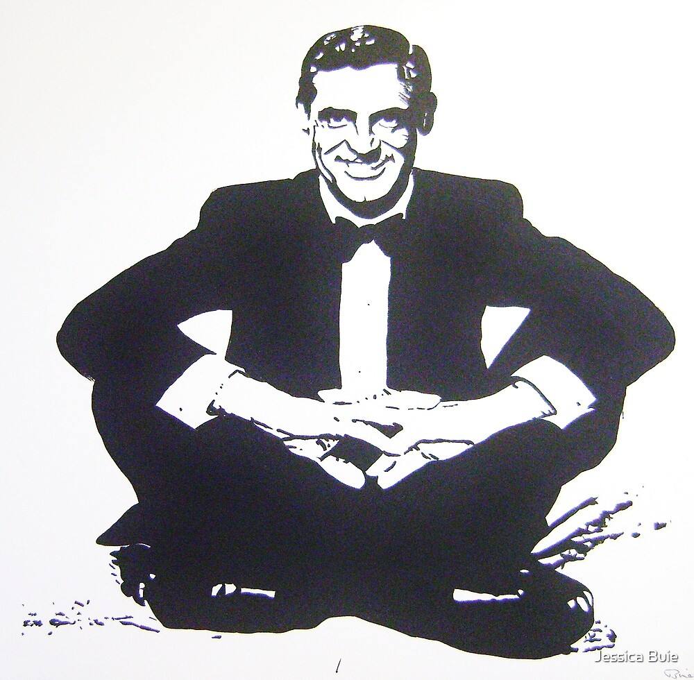 Cary Grant by Jessica Buie