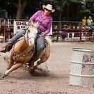 Barrel Racing by photosbytony