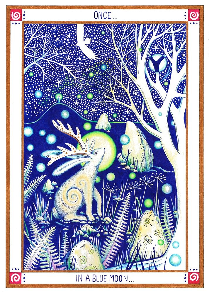 'Once in a Blue Moon' by Gill Rippingale