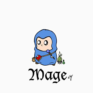 The Mage by CL4P-TP
