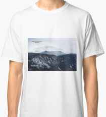 Looking towards Mt. Lafayette from Cannon Mountain - Franconia, NH 01-11-15 Classic T-Shirt
