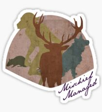 The Marauders - Mischief Managed Sticker