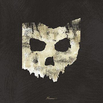 SKULLHIO - Ohio Shaped Skull by WillRuocco