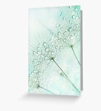 Baby Blue Sparkles Greeting Card