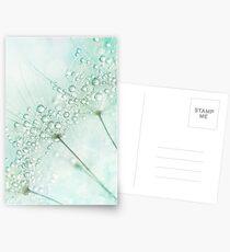 Baby Blue Sparkles Postcards