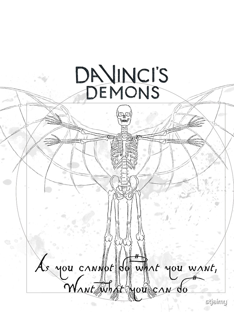 Da Vincis Demons T Shirt By Stjaimy