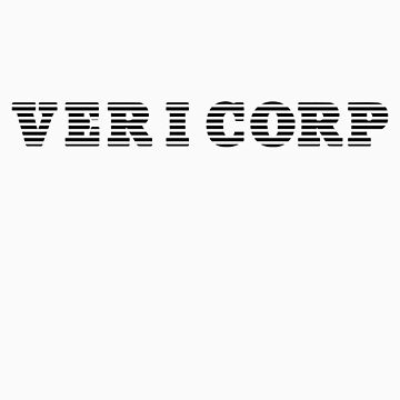 Vericorp - Black Logo Shirt by thedailyrobot