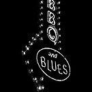 Bar B Que and Blues iphone case by susan stone