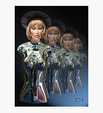 Cyborgs on Parade Photographic Print