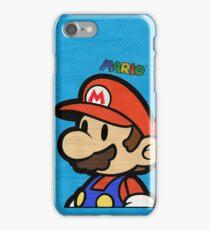 Mario T iPhone Case/Skin