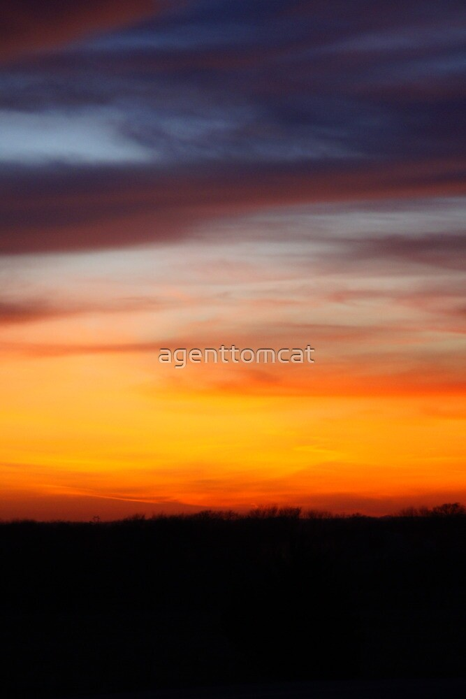 Halloween Sunset 2012 by agenttomcat