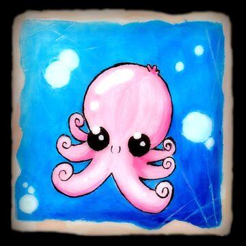 Cute Octopus by momopaul