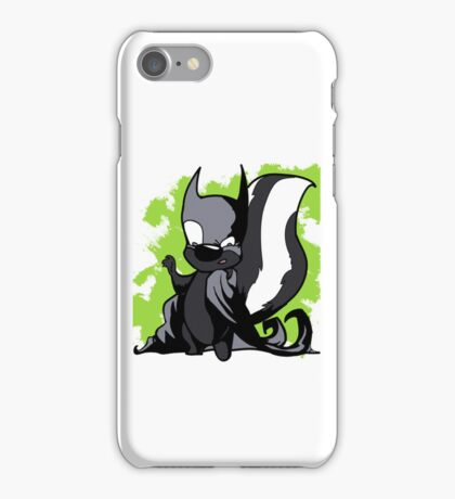 Batskunk 2 iPhone Case/Skin