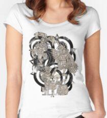 Ancient Jazztecs Women's Fitted Scoop T-Shirt