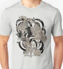 Ancient Jazztecs Unisex T-Shirt