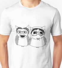 Are you local? Edward and Tubbs Owls Unisex T-Shirt