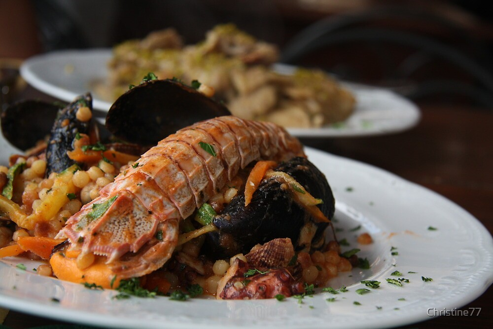 See food...seafood by Christine Oakley