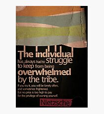 Humanity. Nietzsche. Photographic Print