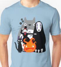 Ghibli'd weg Unisex T-Shirt