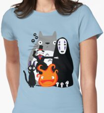 Ghibli'd Away Women's Fitted T-Shirt