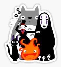 Ghibli'd Away Sticker