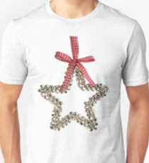 Silver Bells Christmas Star Decoration Unisex T-Shirt
