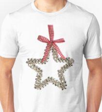 Silver Bells Christmas Star Decoration T-Shirt