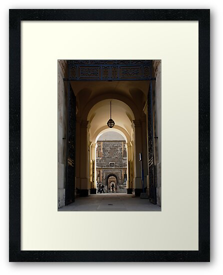 Archway Oxford University by Flo Smith