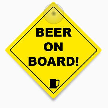 Beer on Board by bobbydanger