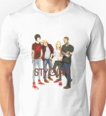 Stygian lineup Slim Fit T-Shirt