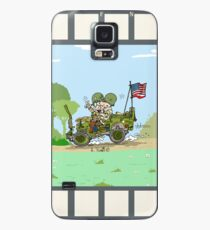 WW2 US Army jeep at countryside Case/Skin for Samsung Galaxy