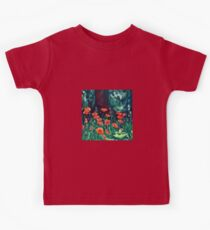 Chanticleer Poppies  Kids Tee
