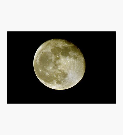 Hallow's Eve Moon  Photographic Print