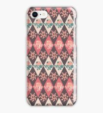 Girly Jellyfish Argyle Pattern iPhone Case/Skin