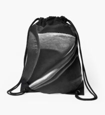 Wood and Velor Drawstring Bag