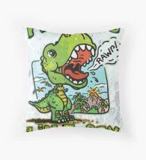Auntie's Little T-Rex Throw Pillow