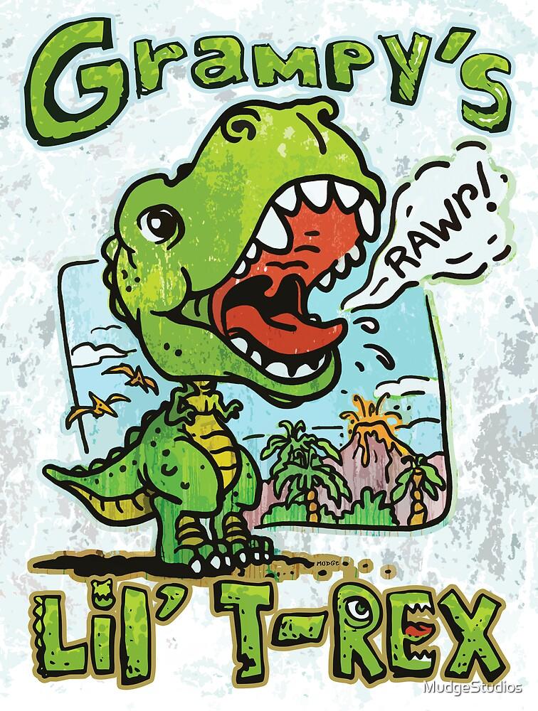 Grampy's Little T-Rex Dino by MudgeStudios