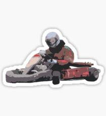 Karting Sticker