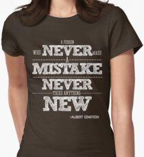 Camiseta entallada para mujer citas