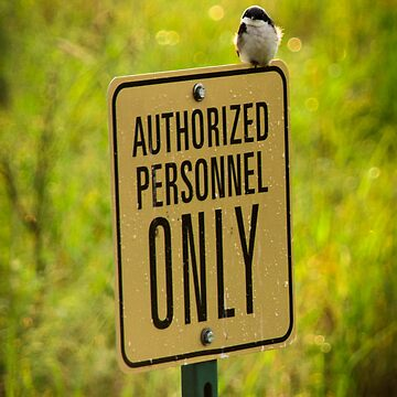 Authorized Personnel Only by seanlb1
