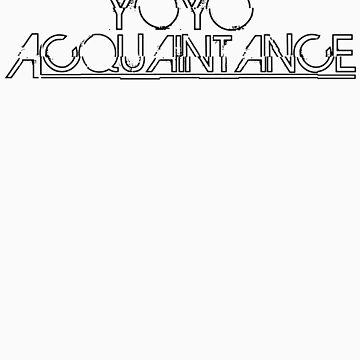 YoyoAcquaintance Distort Black by yoyoacq