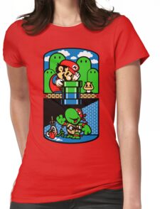 Help a Brother Out Womens Fitted T-Shirt